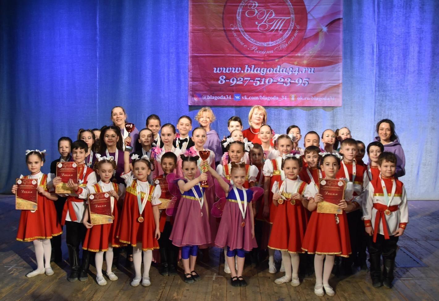 Образцовый танцевальный коллектив «Сюрприз»